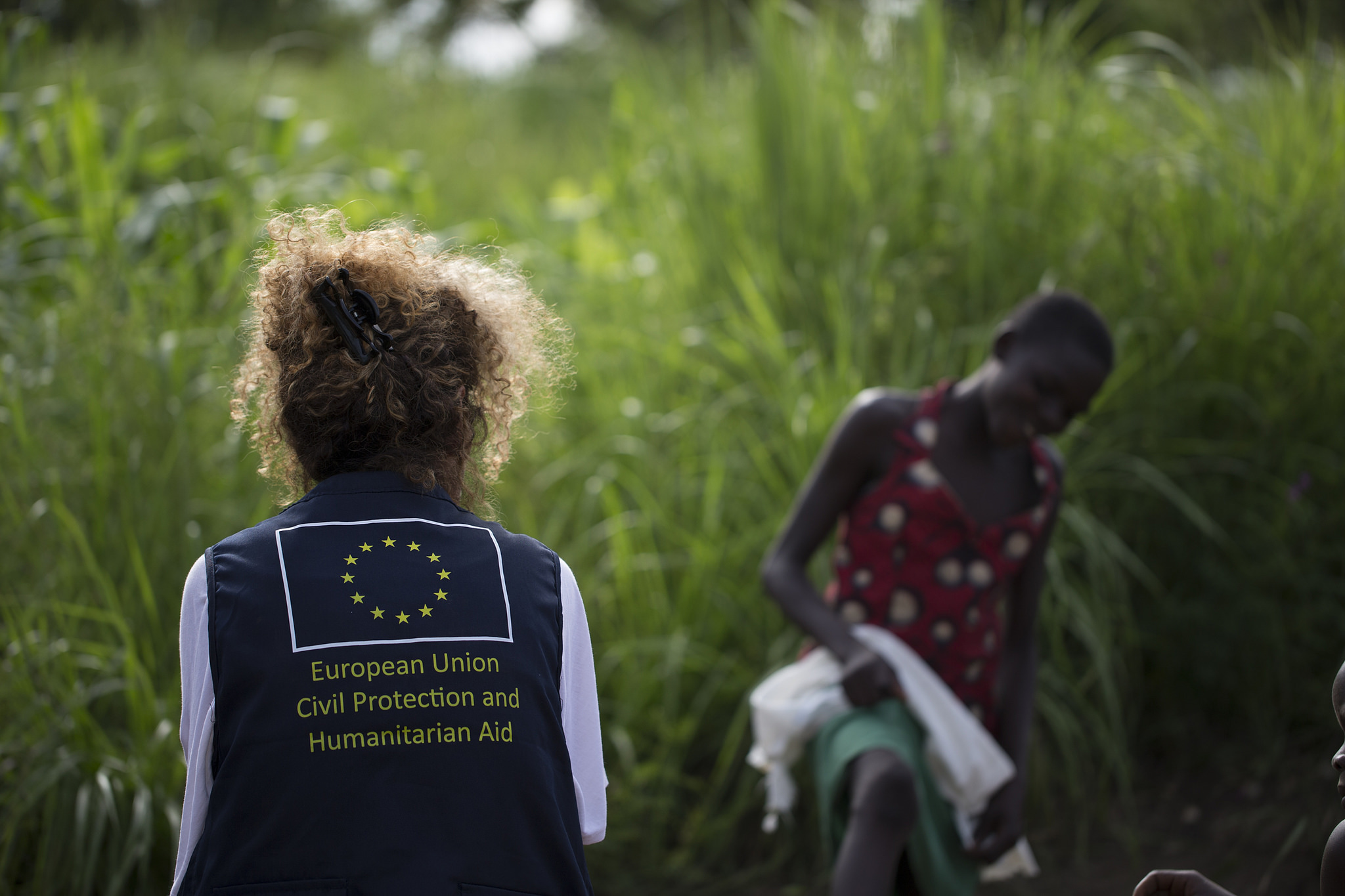 EU Civil Protection . Photo cred - European Commission DG ECHO, Imvepi Refugee Settlement